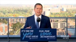 Federal Election 2019: Scheer says he wishes he had more time to directly debate Trudeau