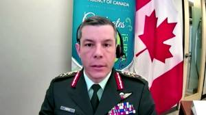 Coronavirus: Fortin provides update on vaccine deliveries in Canada (01:56)