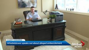 Whistleblower speaks out about alleged embezzlement at Okanagan charity (03:52)