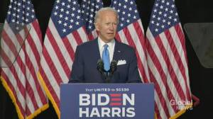 Biden says Kamala Harris would be first woman ever to serve the second highest office in America if elected