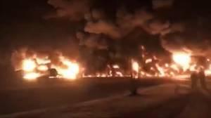 CP Rail train hauling crude derails east of Saskatoon