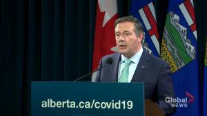 'Please follow the rules in place': Kenney pleads with Albertans ahead of Thanksgiving weekend (00:30)
