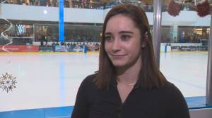 Kaetlyn Osmond shares difficult transition from competitive skating
