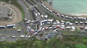Coronavirus: Frustration grows among truck drivers stranded in the UK by COVID-19 blockade (03:04)