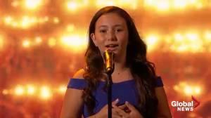 10-year-old Canadian Roberta Battaglia dazzles on 'America's Got Talent'
