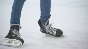 Ice skating program for new Canadians