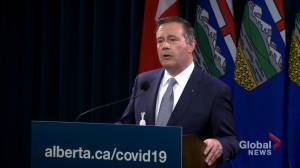 Discussions about support from Newfoundland and Labrador for Alberta health care ongoing: Kenney (01:25)