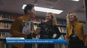Canadian Literacy Month and the 'Bookmobile' tour