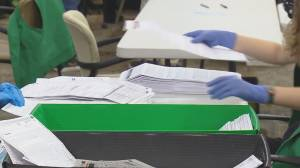 U.S. election: Officials continue to count thousands of ballots (01:33)