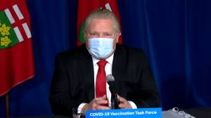 Coronavirus: Ford says it's 'absolutely critical' to test every person entering Pearson Airport for COVID-19 (03:19)