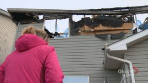 'Our lives are changed forever': Calgary homeowner loses dream home in fire (01:51)