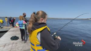 """Miramichi, NB students get """"Schooled"""" in the sport of fishing (01:36)"""