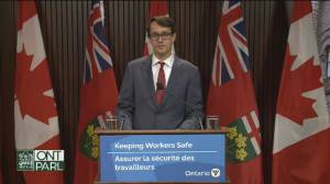 Ontario proposes legislation to require temporary staffing agencies, recruiters to be licenced (03:09)