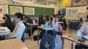 Schools to remain open in Ontario during COVID-19 shutdown (01:53)