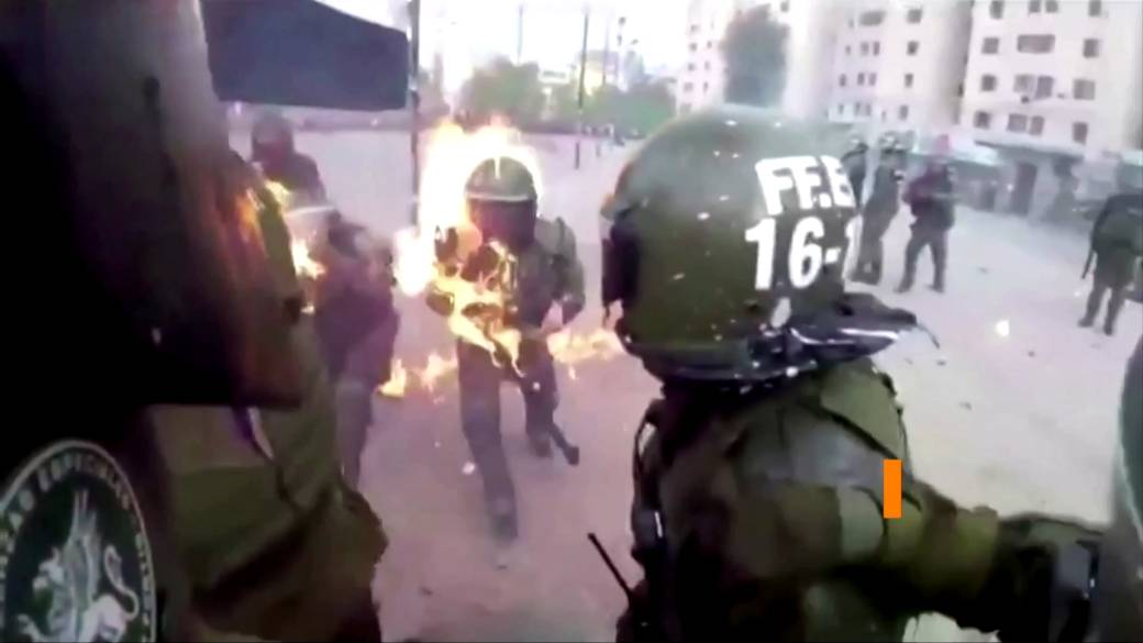 Chile's Pinera says security force abuses during protests will not go unpunished
