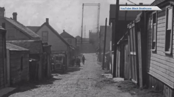 Click to play video: Uncovering the history of Black Vancouverites in Hogan's Alley
