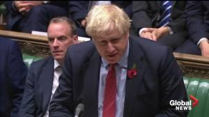 Boris Johnson: U.K. needs election to end parliamentary obstructionism