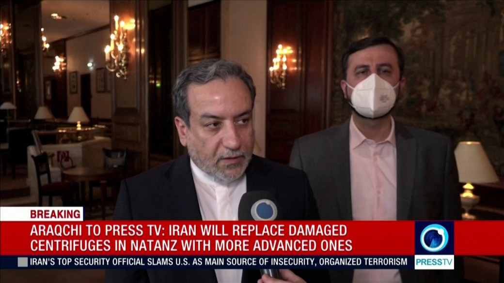 Click to play video: 'Iran begins 60 per cent uranium enrichment following Natanz site incident, chief nuclear negotiator says'