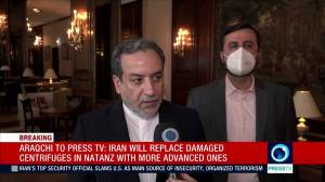 Iran begins 60 per cent uranium enrichment following Natanz site incident, chief nuclear negotiator says (01:06)