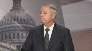 Lindsey Graham says U.S. Capitol riot will be 'major part' of Trump's presidency (00:48)