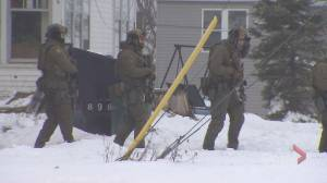 N.B. man arrested in Amherst after 12-hour manhunt (01:29)