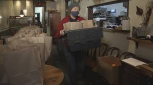 Chinatown non-profits deliver care packages to elders stuck at home during pandemic (01:59)