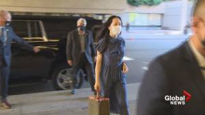Lawyers argue for stay as extradition hearing starts for Meng Wanzhou (00:47)