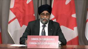 Sajjan says investigation ongoing into cause of deadly helicopter crash in the Ionian Sea (02:36)