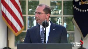 Coronavirus outbreak: Azar says U.S. is testing over 100,000 samples per day