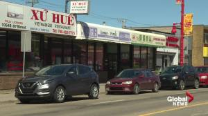 Edmonton's Chinatown business closures, economic recovery a concern for area association (01:57)