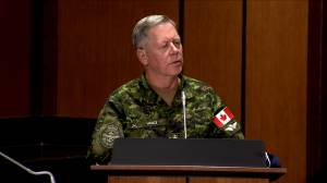 Coronavirus: Gen. Vance discusses the 55 Canadian Forces members who contracted COVID-19 while deployed to long-term care homes