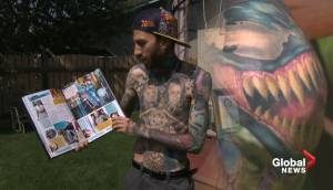Edmonton man featured in Guinness World Record 2020 book for most Marvel tattoos