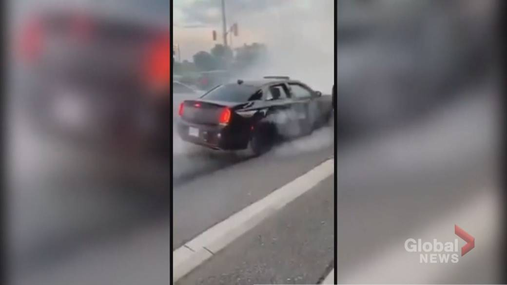 21 Year Old Mississauga Man Charged With Stunt Driving Caught On Video Toronto Globalnews Ca