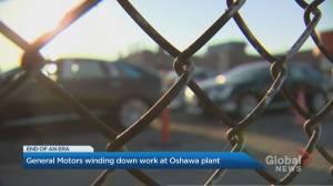 End of an era in Oshawa as GM plant winds down production