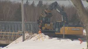 Permanent solution for Dorian-damaged N.B. bridge could cost millions, MLA says (01:32)
