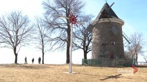 Pointe-Claire windmill repair still up in the air (01:46)
