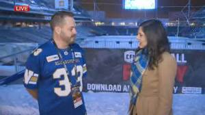 25 year season ticket holder shares his excitement over the Blue Bombers Grey Cup Victory