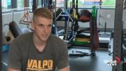Play video: Edmonton basketball player looking to build on successful NCAA freshman season