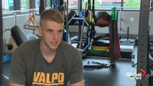 Edmonton basketball player looking to build on successful NCAA freshman season