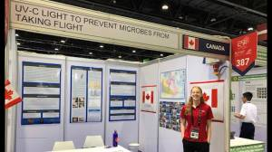 Kingston's Bryn Bain returns from Abu Dhabi International Science Fair