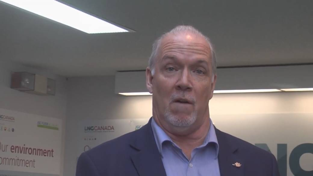 'Show some respect': Horgan ruffles feathers with LNG plant visit that skips Indigenous leaders