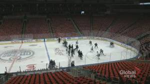 Reid Wilkins on the Edmonton Oilers bidding to host NHL playoffs