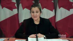 Coronavirus: Freeland mum on whether normalcy to return at end of this year amid vaccinations (02:32)
