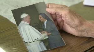 Pope's cousin says she looks forward to reunion during Thailand visit