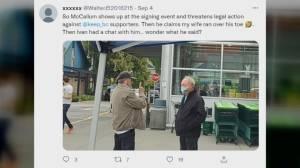 RCMP investigating confrontation involving Surrey mayor (01:27)