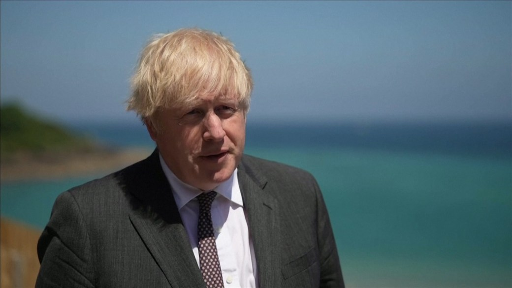 Click to play video: 'Boris Johnson warns U.K. will do 'whatever it takes' on post-Brexit trade'