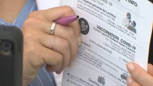 Ontario officials outline exemptions ahead of COVID-19 vaccine passport rollout (02:14)