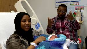 GTA parents welcome New Year's babies within seconds of one another