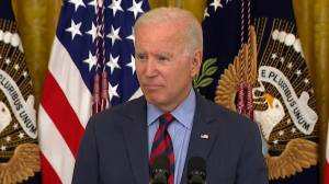 Biden says New York Gov. Cuomo should resign following sexual harassment allegations (01:05)