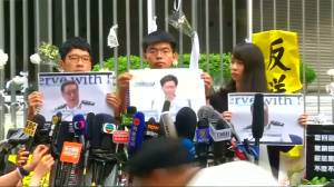 Hong Kong democracy activist seeks support from U.S.